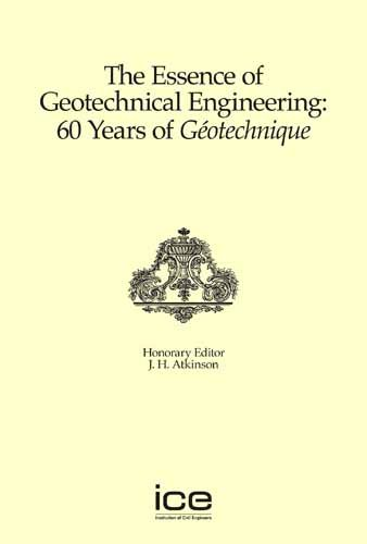 The Essence of Geotechnical Engineering: 60 Years of Geotechnique