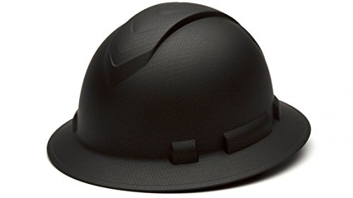 pyramex-ridgeline-full-brim-graphite-pattern-hard-hat-black
