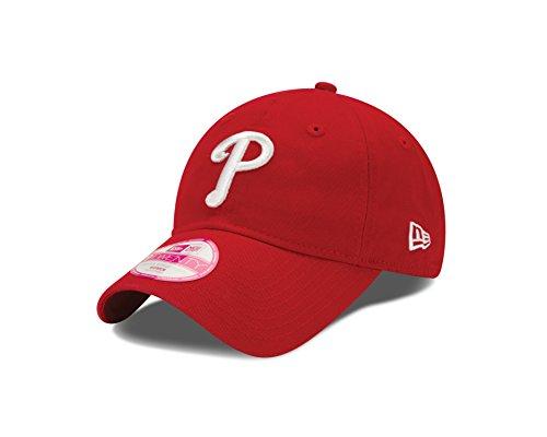 Phillies Caps Baseball (MLB Philadelphia Phillies Women's Essential 9Twenty Adjustable Cap)