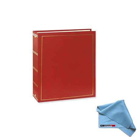 Pioneer LM-100 100 Page Magnetic 3-Ring Photo Album (12-Pack) Red by Pioneer Photo Albums