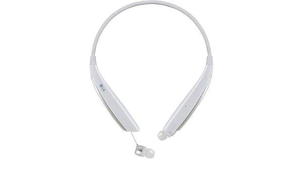 Amazon Com Lg Hbs 830 Tone Ultra Stereo Bluetooth Headset White Retail Renewed Electronics