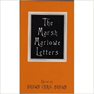Book The Marsh Marlowe Letters