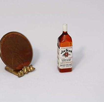 1//12 Scale Miniatures Miniature Liquor for the DOLLHOUSE Bar Set #2