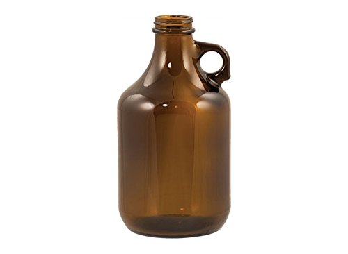 Beer Bottles - 32 oz Amber Growler - Case of 12 by Homebrewers Outpost