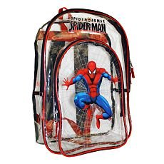 Amazon.com: Spider Man Spider Sense Clear Backpack: Sports & Outdoors