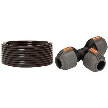 Zentrale Leitung für Pipeline und Gardena Sprinklersystem Verlegerohr
