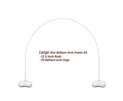 Amazon.com: Balloon Arch Frame Kit Stand Weddings, Proms, Birthday ...