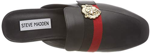 Flat Karisma Mocassini Madden 017 Schwarz black Steve Leather Donna fHvnqnx