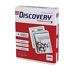 (Soporcel Discovery Multipurpose Paper, Letter Size Paper, 20 Lb, White, 500 Sheets Per Ream, Case of 10 Reams)