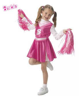 Barbie Cheerleader Size Toddler  sc 1 st  Amazon.com : toddler cheerleading costume  - Germanpascual.Com