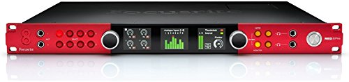 Focusrite Red 8Pre 64-In/64-Out Thunderbolt 2, Pro Tools HD, and Dante Compatible Audio Interface ()