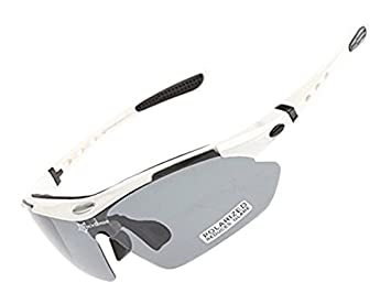1247a166ce Image Unavailable. Image not available for. Colour  ROCKBROS Bike Polarized  Cycling Glasses CS011