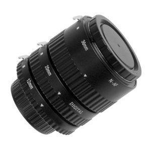 Set de bagues allonges automatiques professionnelles pour Nikon F   AF   AI  -  3 81c2cbeafa44