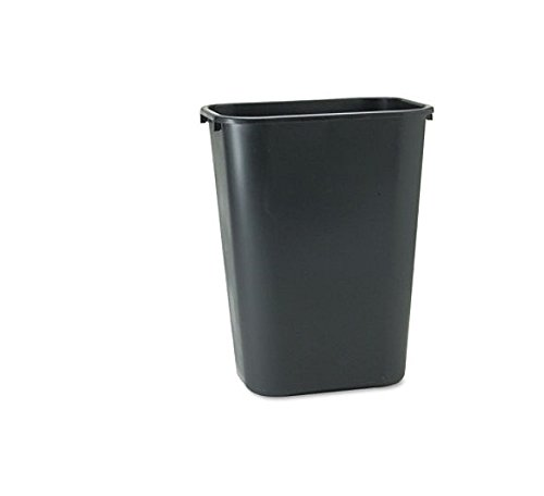Rubbermaid Commercial 2957 10-Gallon Deskside Large Trash Can, Rectangular, 11