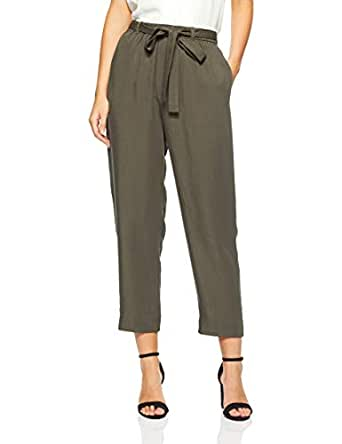 French Connection Women's Cargo Pant, Khaki, Eight