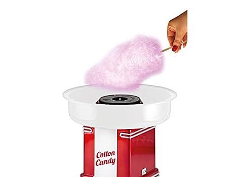 Beper Cotton Candy Máquina para Hacer algodón de azucar 90.396, 800 W, Blanco y Rojo: Amazon.es: Hogar