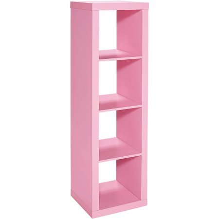 Better Homes and Gardens 4-Cube Organizer, Size:, Actual Color: pink by Better Homes & Gardens
