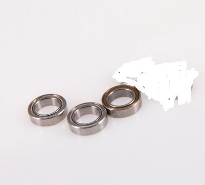 3Pcs Durable Stainless Steel Precision Bearing, for Shimano Daiwa Fishing Reel Accessory(Size 4)