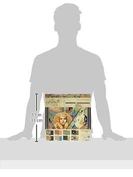 30,5/x 30,5/cm Graphic 45/Vintage Hollywood Bloc de Papel