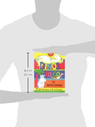 Dinos to Go /(Inglés/) Pasta de cartón – 1 oct 2000 Sandra Boynton Little Simon 0689840071 9780689840074