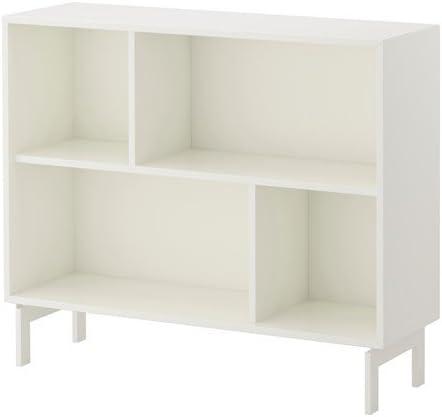 IKEA VALJE estantería de pared blanco; (100 x 83 cm): Amazon ...