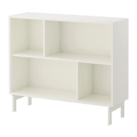 IKEA VALJE estantería de pared blanco; (100 x 83 cm)