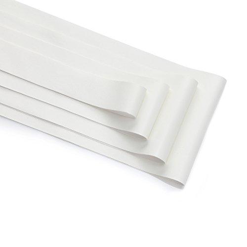 White Leatherette Pram - 1