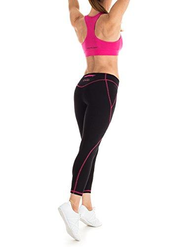 Winshape WVR1 Soutien-gorge de sport pour femme Pour loisirs L Rose - rose bonbon