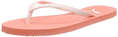 Puma First Flip Wns - Sandalias de dedo Mujer Rosa - Pink (fluo peach-pink dogwood 01)