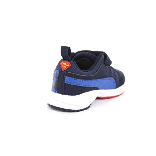 Puma Carson Runner Superman V Kids - Zapatillas de running Unisex Niños Azul