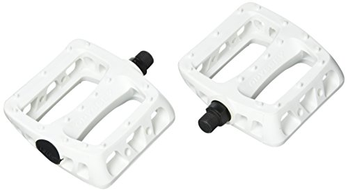 ODYSSEY Limited Edition Twisted PC Pedals, White, 9/16-Inch - Odyssey Bmx Parts