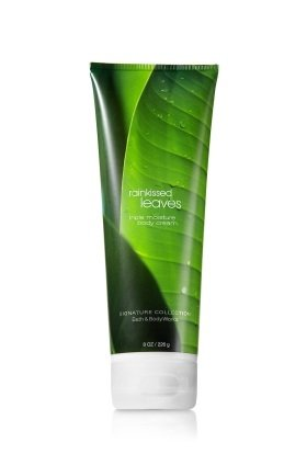 Body Cream Leaves (Bath and Body Works Rainkissed Leaves Triple Moisture Body Cream, 8 oz)