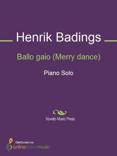 Ballo gaio (Merry dance) - Piano