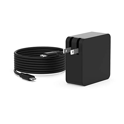 7.5Ft USB-C AC Charger for Lenovo Yoga 910 c930 730 730-13 910-13 920-13 c930-13 s730-13 4X20M26268 ADLX65YLC3A ADLX65YLC2A ADLX65YAC2A ADLX65YCC2A IdeaPad Laptop USB Type C Power Supply Adapter Cord