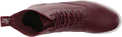 Dr.Martens Mens Whiton Leather Boots Cherry Red