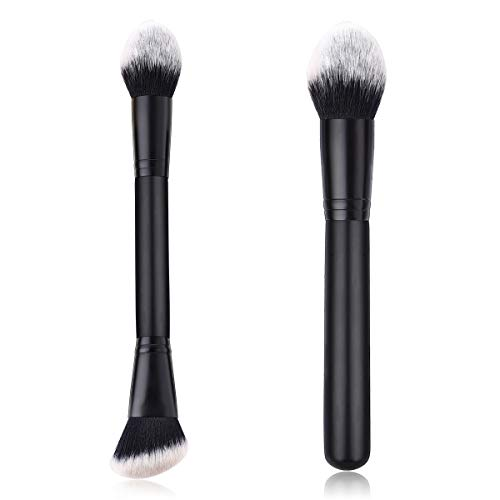 Large Makeup Brush, Single Head/Double-Head Powder/Blush/Bronzer Foundation Brush Cosmetic Brush (Color : Single-Head)