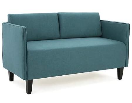 Amazon.com: Loveseats para espacios pequeños, sofá-oscuro ...