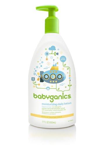 Babyganics Увлажняющий Ежедневный Лосьон, отдушек, 17oz бутылки насоса (в упаковке 2)