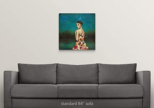 Duy Huynh Premium Thick-Wrap Canvas Wall Art Print Entitled Reflective Nature 24