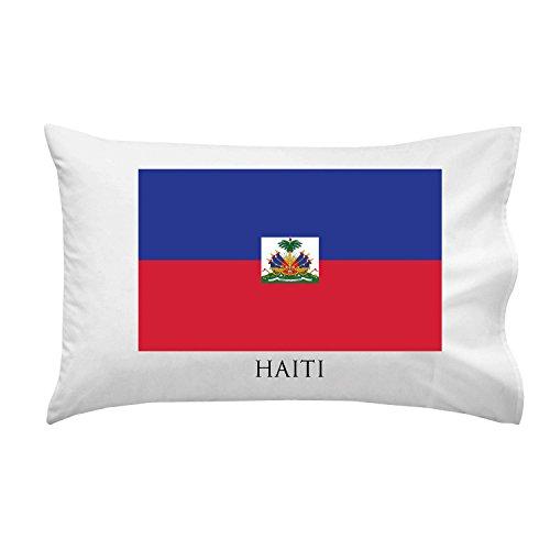 Haiti - World Country National Flags - Pillow Case Single - Haiti Flag Country