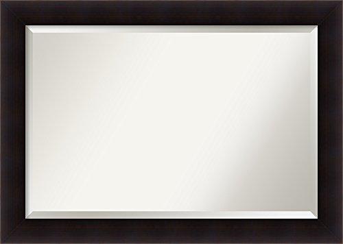 Amanti Art DSW3941600 Bathroom Mirror, X-Large, Espresso Brown