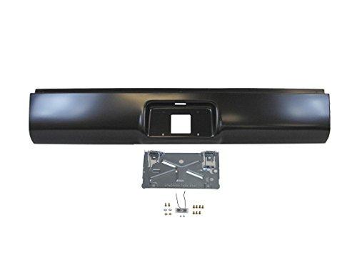 ll Pan Fold Down License Plate Holder Flip Bracket with Light for 1999-2007 Silverado Fleetside (Fold Down License Plate Holder)