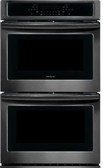 Frigidaire FFET3026TD 30 Inch 4.6 cu. ft. Total Capacity Electric Double Wall Oven with 4 Oven Racks, in Black Stainless Steel