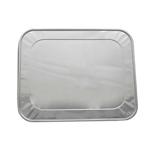 - Party Essentials F1050 Half Size Aluminum Foil Lid for Steam Table Pan (Case of 100)