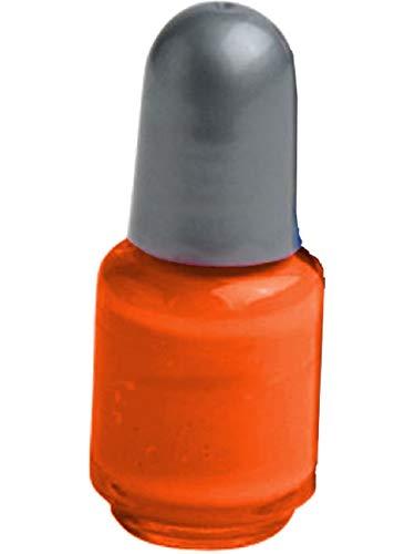 Neon Orange Nail Polish Pretty Princess Punk Glamour