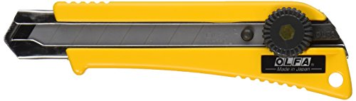 OLFA 5004 L-2 18mm Rubber Inset Heavy-Duty Utility Knife