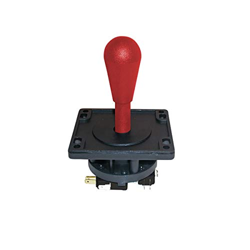 Suzo Happ Competition Joystick 8 Way Red - with Switches