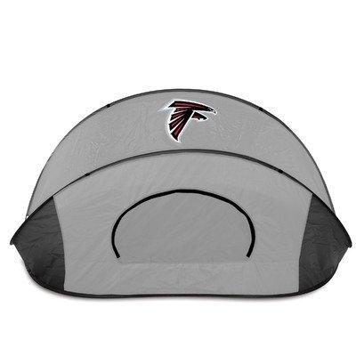 NFL Atlanta Falcons Manta Portable Pop-Up Sun/Wind Shelter, Black/Gray
