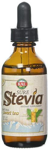 Kal Sure Stevia Extract, Sweet Tea, 1.8 Fluid Ounce by KAL