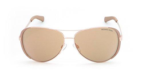 Michael Kors MK5004 Chelsea Sunglasses, Gold